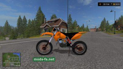 Мотоцикл КТМ для FS 2017