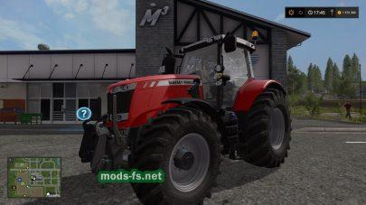 Мод трактора Massey Ferguson 7700