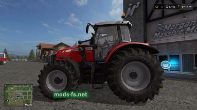 Massey Ferguson 7700 mods