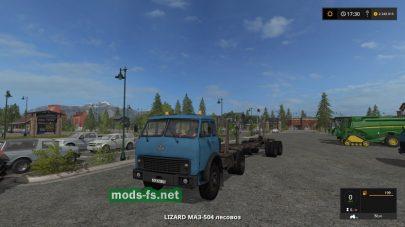 Мод грузовика МАЗ-504
