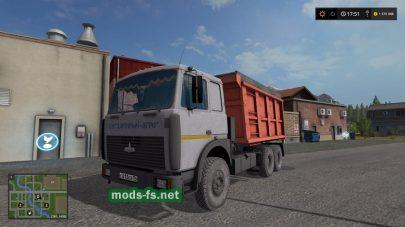Мод самосвала МАЗ-5516