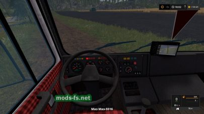 MAZ-5516 mods