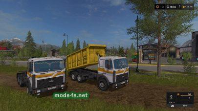 maz-5516 для Farming Simulator 2017