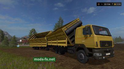Мод грузовика MAZ KOLOS