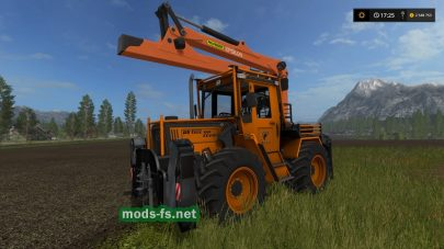 MB TRAC 1000 TURBO для FS 2017