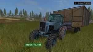 Мод синего трактора МТЗ