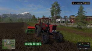 мод красного трактора MTZ 82