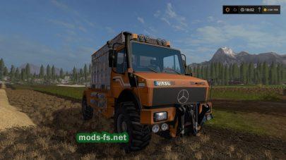 Мод грузовика TSL UNIMOG SPECIAL