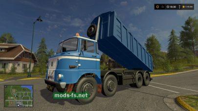 W50 4X4 TIPPER mods