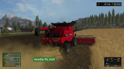 Case IH Axial для игры Farming Simulator 2017
