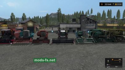 Пак комбайнов для игры Farming Simulator 2017