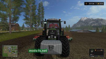 Мод трактора Fendt 412 Vario