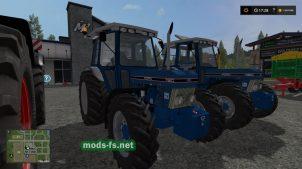 Мод трактора FORD 7810