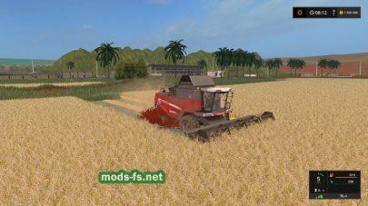 Уборка урожая в игре FS 17