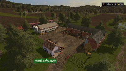 Ферма на карте Gorzkowa