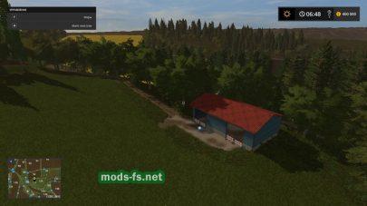 Карта для FS 17 с небольшими полями