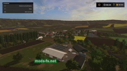 Реалистичная карта для Farming Simulator 2017