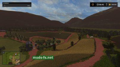 Модификация карты Схема карты Fazenda Baixa Verde