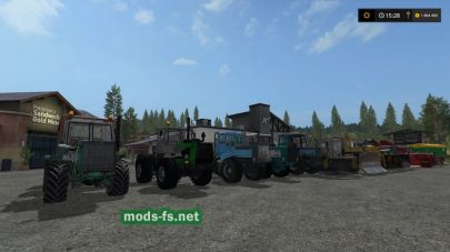 Трактора ХТЗ и ДТ для FS 17