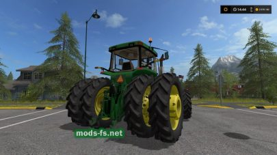 Трактор JD 8400 US для FS 2017