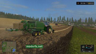 Тюковщик JOHN DEERE для Farming Simulator 2017