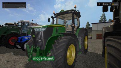 Мод трактора JOHN DEERE 7R