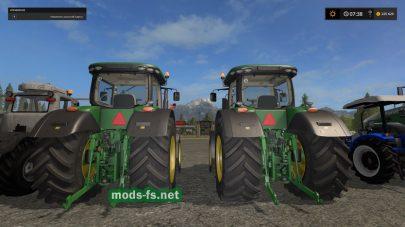 Трактора JOHN DEERE для FS 17