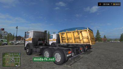 Мод грузовика MAZ-5516