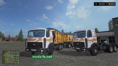 MAZ-5516 для FS 2017