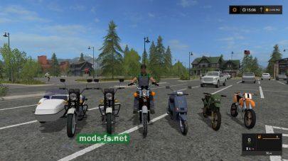 Мотоциклы для FS 17