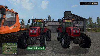 Мод трактора MTZ 1220.3 FL