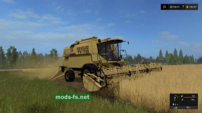 Мод комбайна NEW HOLLAND TF78