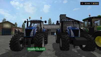 NEW HOLLAND TG SERIES