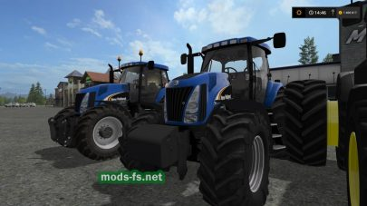 NEW HOLLAND для FS 2017