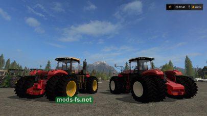 Versatile 450 mods