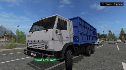 Мод самосвала КамАЗ-55102