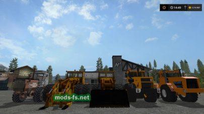 Русские трактора для FS 2017