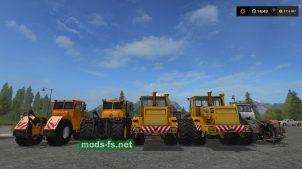 Мод пак больших тракторов