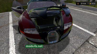 Bugatti Veyron для FS 2017