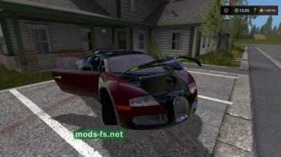 Bugatti Veyron mods