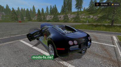 Мод авто Bugatti Veyron