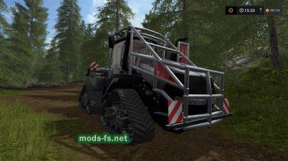 CASE IH QUADTRAC — трактор для лесозаготовки