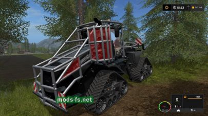 CASE IH QUADTRAC FOREST