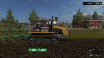 Мод трактора Caterpillar 75C
