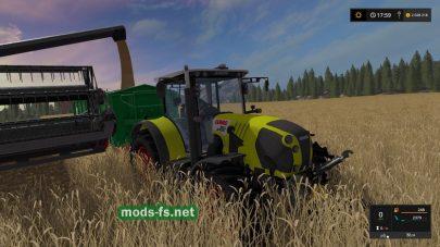 Модификация трактора CLAAS ARION