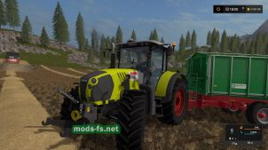 Мод трактора CLAAS ARION 650F