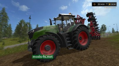 Мод трактора FENDT VARIO 1000 FULL EDITION