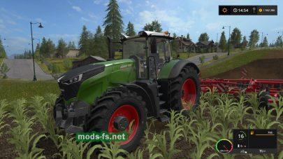 Мод трактора fendt vario 1000
