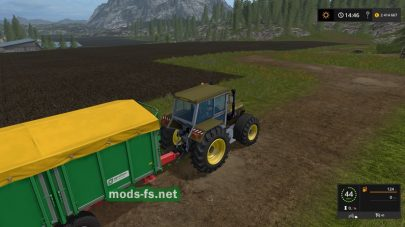 Мод трактора Fortschritt ZT 322-B