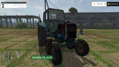 Мод самодельного трактора для FS 2015